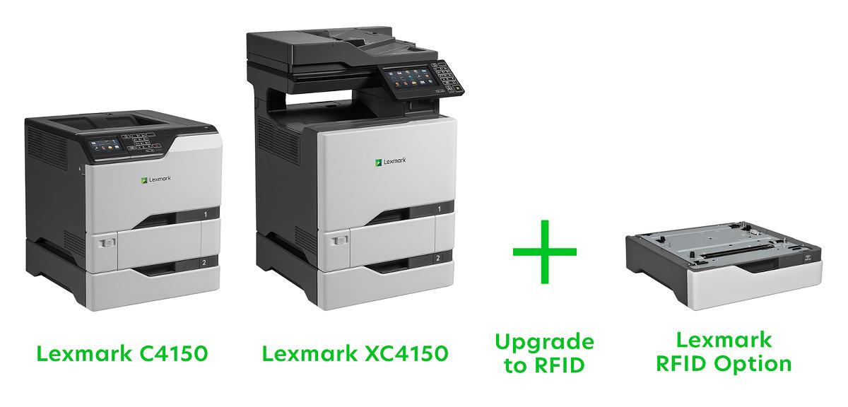 Lexmark RFID Laserdrucker